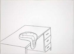 Untitled_desk_with_melting_clock_1_2020_web-250x185 Untitled (desk with melting clock II), 2020